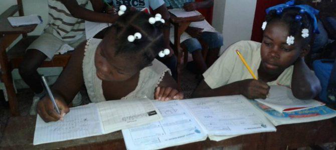 Des nouvelles des écoliers des Cayes
