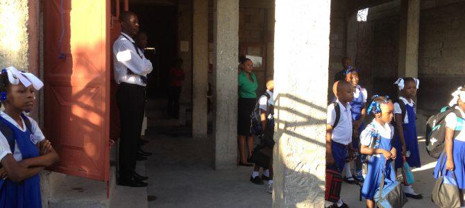 La rentrée scolaire en Haïti