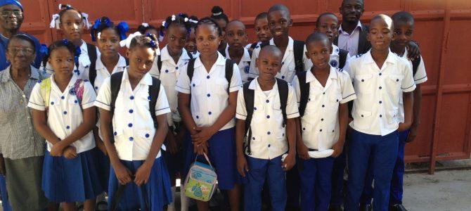 Une nouvelle classe à l'école INDP